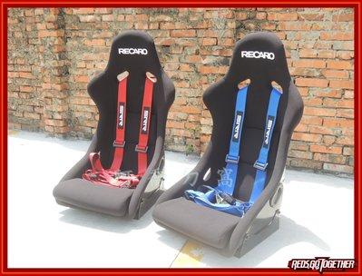 【阿喬ㄉ窩】全新 SRR 四點式安全帶 藍/紅/黑 (賽車椅專用)---(2017年全新版本) 台灣製 FOCUS K6