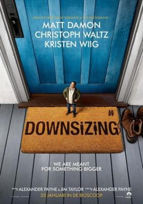 【藍光電影】縮小人生/縮身 縮水人間/誰縮小了我的老公 DOWNSIZING (2017) 馬特-達蒙主演