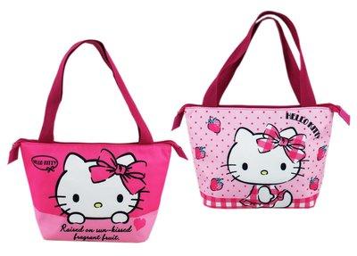 【卡漫迷】 Hello Kitty 保溫袋 二選一 ㊣版 保冷袋 便當袋 手提袋 購物袋 水餃袋 餐袋 野餐 飲料 壽司