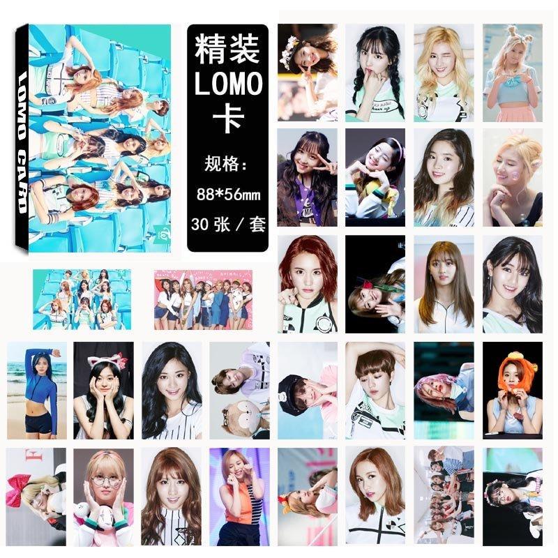 【首爾小情歌】TWICE 團體款 LOMO 30張卡片 周子瑜 小卡組