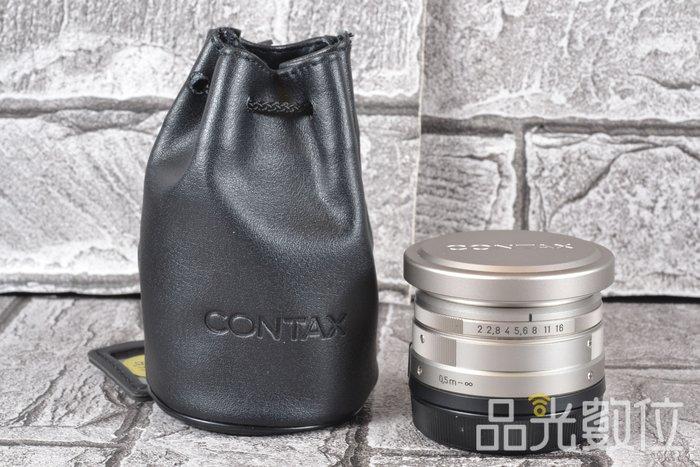 【品光攝影】Contax Planar 35mm F2 35/2 Carl Zeiss T* G鏡 HA#70543