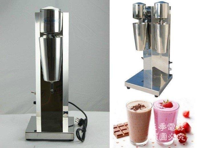 三季單頭雙頭0.8L奶昔機商用奶昔機奶昔攪拌機BH143