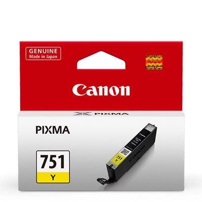 【免比價】CANON CL-751 Y 黃色原廠墨水匣 適用MG5470 MG6370 MX727 MX927