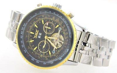 (六四三精品)超大錶徑5.0公分.三眼...