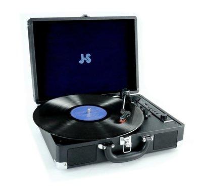 JS 淇譽電子 TLP-2001多功能藍芽黑膠唱盤機(藍芽黑膠唱盤機)