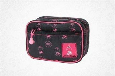 *凱西小舖*日本進口三麗歐正版KITTY凱蒂貓運動甜心系列收納包/化妝包(M)