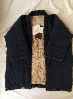 {CHI} Visvim sanjuro kimono down jacket indigo 藍染 羽絨 外套