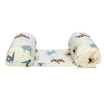 嬰兒枕頭定型枕嬰兒枕頭0-1歲新生兒防偏頭矯正頭型定型枕小孩頭枕睡枕夏季 透氣XBD