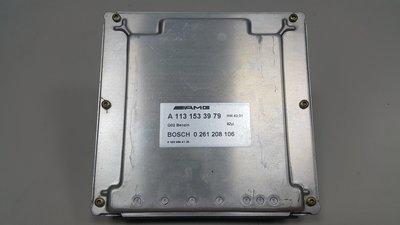 BENZ W211 E55 AMG M113 2003- 引擎電腦 電腦 CPU 機增引擎用 1131533979