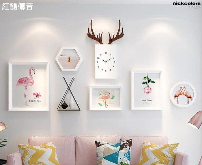 尼克卡樂斯~北歐LOFT有框畫7件組 LOFT北歐風掛畫  客廳主牆掛畫  咖啡廳掛畫 客廳掛畫 服飾店掛畫 工業風掛畫