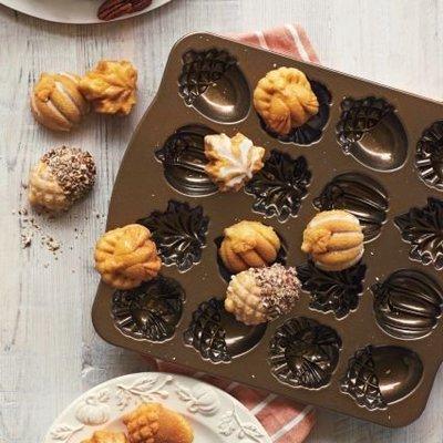 ~❤美國寶寶的衣櫥❤~(現貨)美國製Nordic Ware Autumn美國諾迪威 秋天橡實烤盤 美國製 烤模