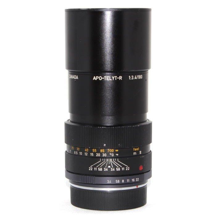 『永佳懷舊』LEICA 萊卡 APO-TELYT-R 180mm F3.4 no.2749013  ~中古品~