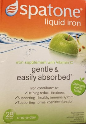 Spatone 英國直送 鐵質水能 一盒28包