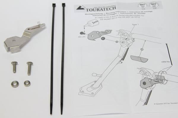 梁記零配件小舖 TOURATECH 側腳架開關保護片組 R1250GS  R1250GS/ADVNTURE