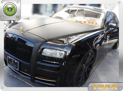 泰山美研社 D7518 Rolls Royce Ghost 車系 前保桿套件 國外進口