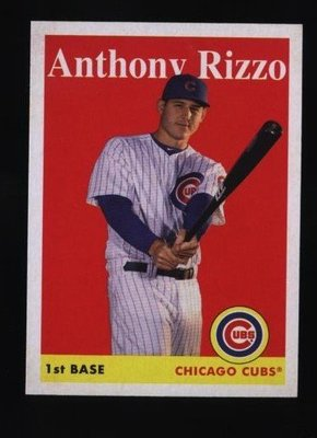 2019 Topps Archives #5 Anthony Rizzo - Chicago Cubs