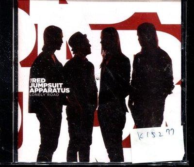 *真音樂* RED JUMPSUIT APPARATUS / LONEY ROAD 二手 K15277 (封面底破.CD有缺口不影響讀取)