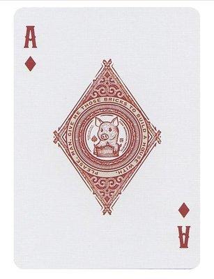 [808 MAGIC]魔術道具The Three Little Pigs PLAYING CARD