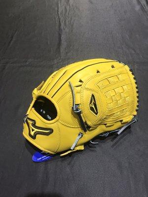 棒球世界Mizuno 美津濃 MVP 壘球手套 1ATGS21830 (47) 內野/投手用特價原皮黃色