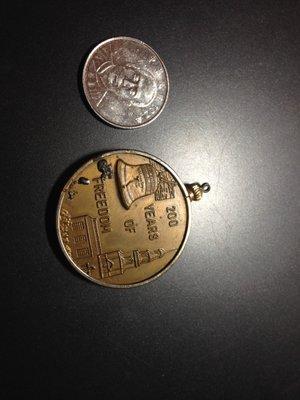 門外漢  紀念章 紀念吊飾 各種錢幣 BICENTENNIAL 1976
