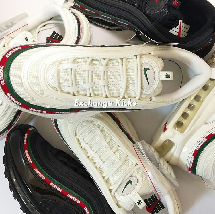Undefeated x Nike Air Max 97 聯名黑紅綠子彈AJ1986 100(CBC8