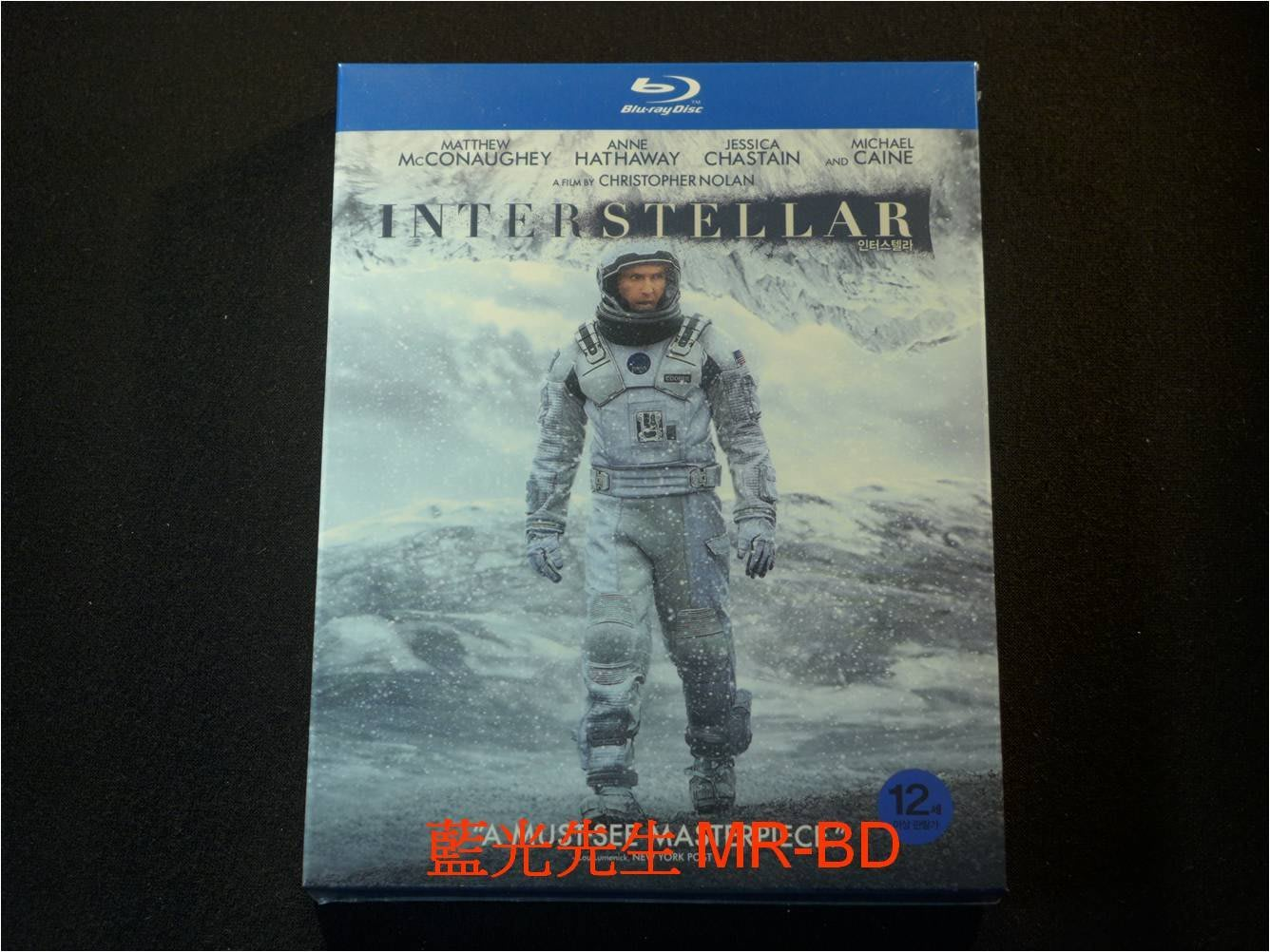 [藍光BD] - 星際效應 Interstellar 雙碟限量收藏版 - 限量加贈48頁幕後電影設定集