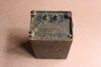 金屬銅全密封真空管擴大機電源抗流電感(Choke); 1 Henry, 500mA