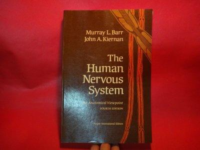【愛悅二手書坊 23-05】The human nervous system: An anatomical