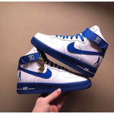 Nike Air Force 1 Rude Awakening AQ4229-100 天藍