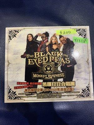 *還有唱片行*BLACK EYED PEARS / MONKEY BUSINESS CD+DVD 二手 Y13118