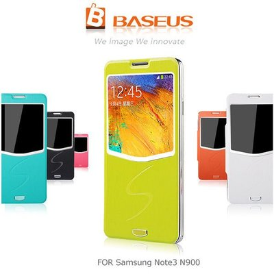 *PHONE寶*BASEUS 倍思 Samsung N900 Galaxy Note 3 薄美側翻皮套 超薄皮面+電池後蓋皮套 保護套
