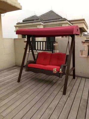 藤王 戶外 PE藤製 搖椅  吊床  鞦韆椅 A3001