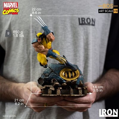 DC光感遊戲 IRON STUDIOS 巴西廠 1/10 X戰警 金剛狼 Wolverine 現貨
