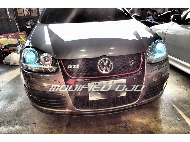 DJD19100715 VW GOLF5  GTI 8000K 高品質HID燈泡更換服務