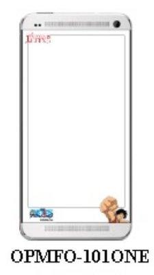 【出清】正版 航海王 / One Piece彩繪螢幕保護貼,HTC ONE / M7 專用