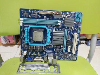 高雄路竹--技嘉GA-78LMT-S2P 主機板(含檔板),加FX-6300 六核心