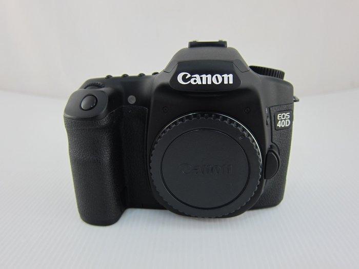 Canon EOS 40D 單機身 單眼數位相機/快門數約5400次*只要3500元*(A0421)