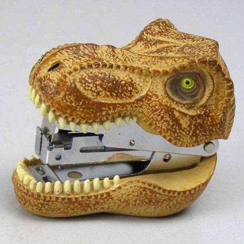 【東京速購】日本 Motif 恐龍造型 釘書機 兩款
