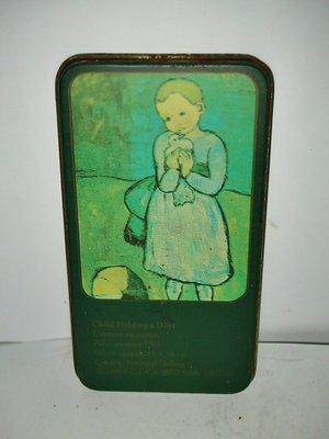 aaL.少見畢卡索名畫CHILD HOLDING A DOVE孩子提著一隻鴿子名畫磁鐵/冰箱貼!--值得收藏!/長1/-