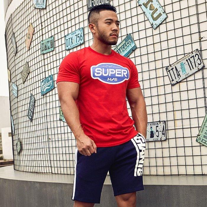 【OTOKO Men's Boutique】Hansbenny SUPER/ T恤/紅色/正版(台灣獨家代理)