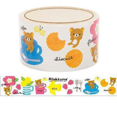 ~散步 雜貨~文具散步~ San~X 北歐懶懶熊 Rilakkuma PVC 包裝 裝飾膠