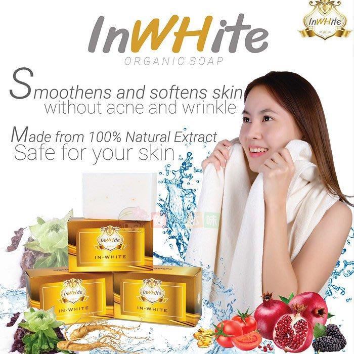 泰國inWhite 雪蓮皂 100g 香皂[TH885032388]健康本味