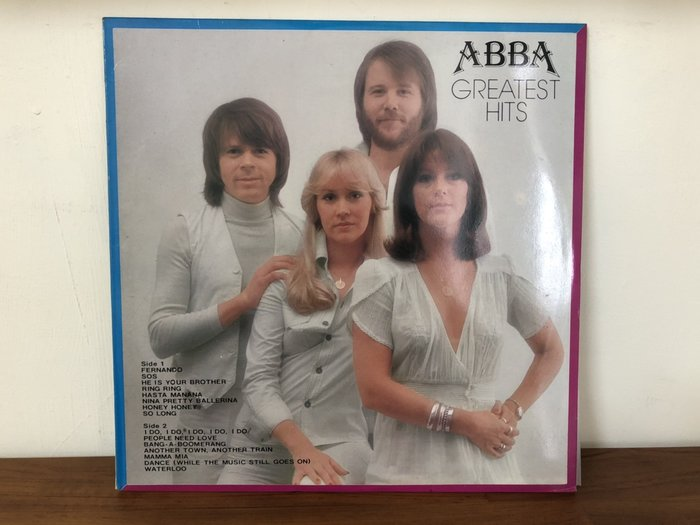 華聲唱片-黑膠LP/ABBA-GREATEST HITS/FERNANDO/SOS/RING RING