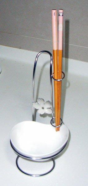 ☆成志金屬☆s-89-1a 不鏽鋼湯匙架 筷子架、公筷公匙架