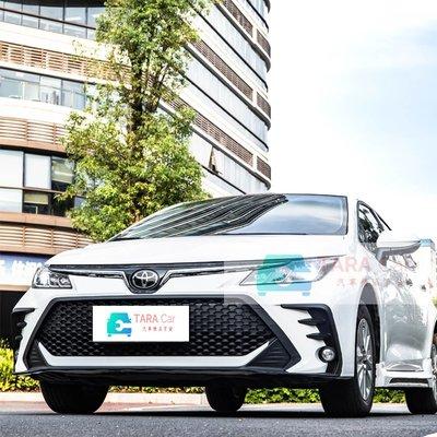 2019 2020 年 TOYOTA 豐田 ALTIS 12代 星躍版 前大包 後大包 前保桿 後保桿 新品