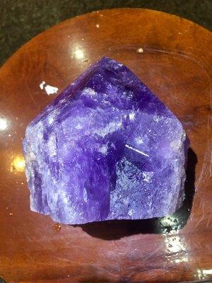 巴西紫水晶骨幹水晶
