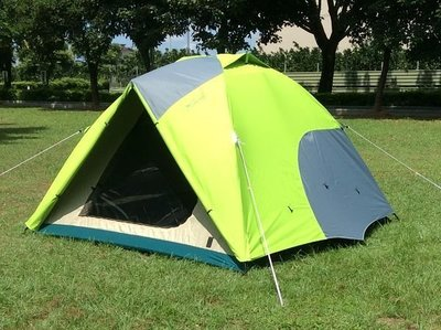 【SAMCAMP 噴火龍】超優品質 # 豪華6~8人(300型)雙門銀膠蒙古包帳篷(三代版) ※ 內帳升級為鋁合金營柱
