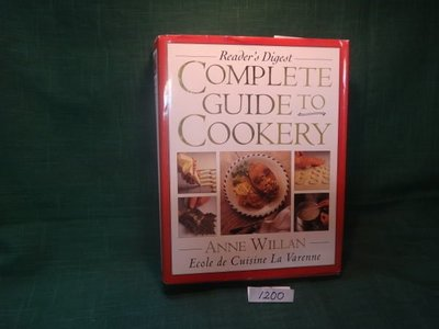 【愛悅二手書坊 01-46】COMPLETE GUIDETO COOKERY ANNE WILLAN