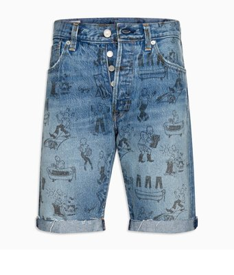 小阿姨shop Levi's SHRINK-TO-FIT™ 501® 经典牛仔短裤潮流 34512-0096