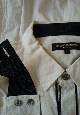 ~櫻花雨~HIDEAWAYS NICOLE 高質感白色菱形緹花布料,鑲黑底白點布 50號